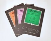 Arches watercolor paper UPGRADE - watercolor sketchbook - watercolor journal - watercolor notebook - hot press - cold press - rough press