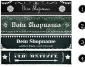 Shop-Banner für Etsy, Palundu, Ebay, Facebook u.a.