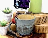11 oz Handmade Pottery Mug, Clay Mug, Stoneware Mug, Handmade Mug, Pottery Coffee Mug, Handmade Coffee Mug, Coffee Cup, Stoneware Coffee Cup