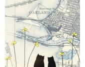 Oakland 8x10 Art Print // Reserved for Cheryl