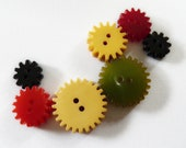 Bakelite Gear Button Collection