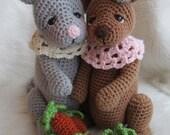 SALE Crochet Pattern Rabbit by Teri Crews instant download PDF format Crochet Toy Pattern