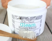 Remineralizing Tooth Powder - Spearmint - Natural - Organic Ingredients - Fluoride Free - SLS Free - Glycerin Free - Bentonite Clay