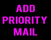 Add Priority Mail to Order Placed