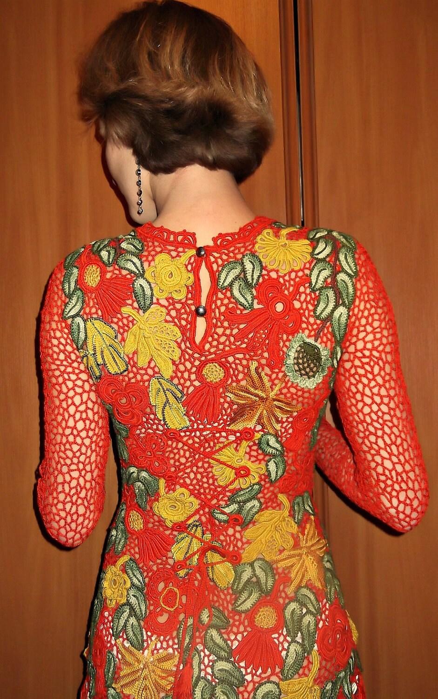 "Dress ""Autumn waltz"""