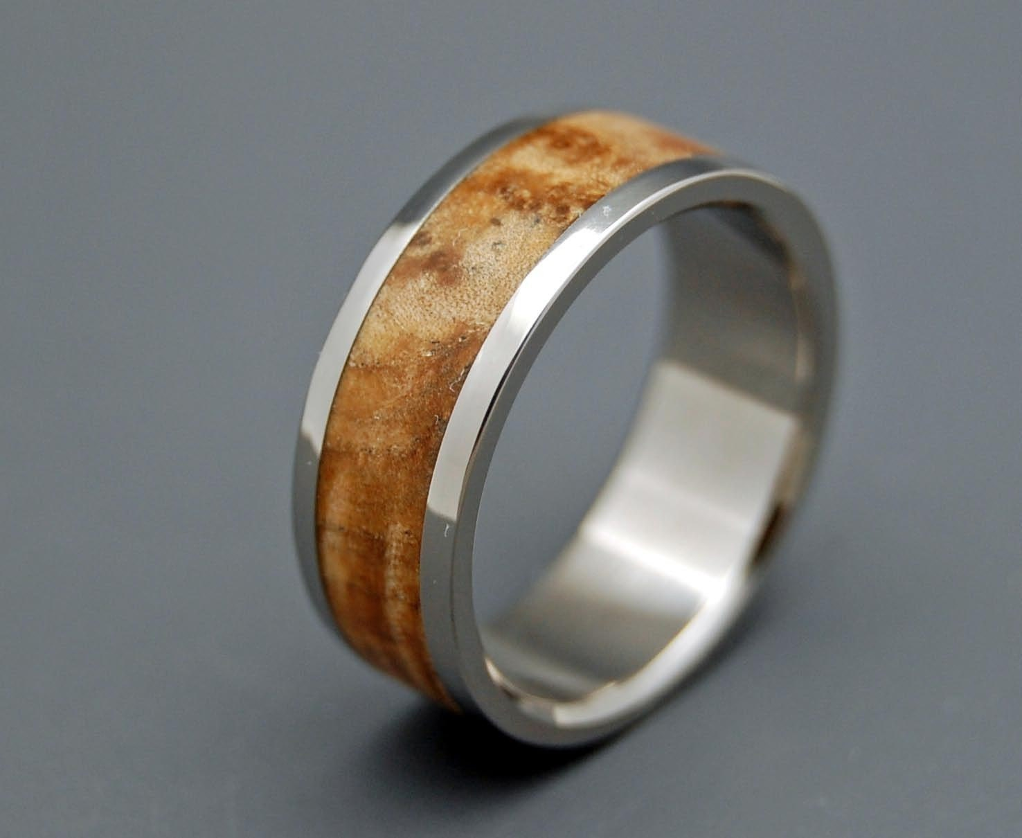 woodstock wooden wedding rings by minterandrichterdes on etsy With wood wedding rings etsy