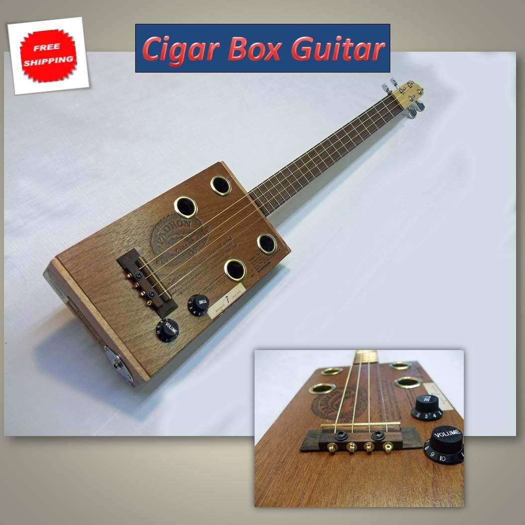 Cigar Box Guitar -- Complete - CatoctinMtnMusic