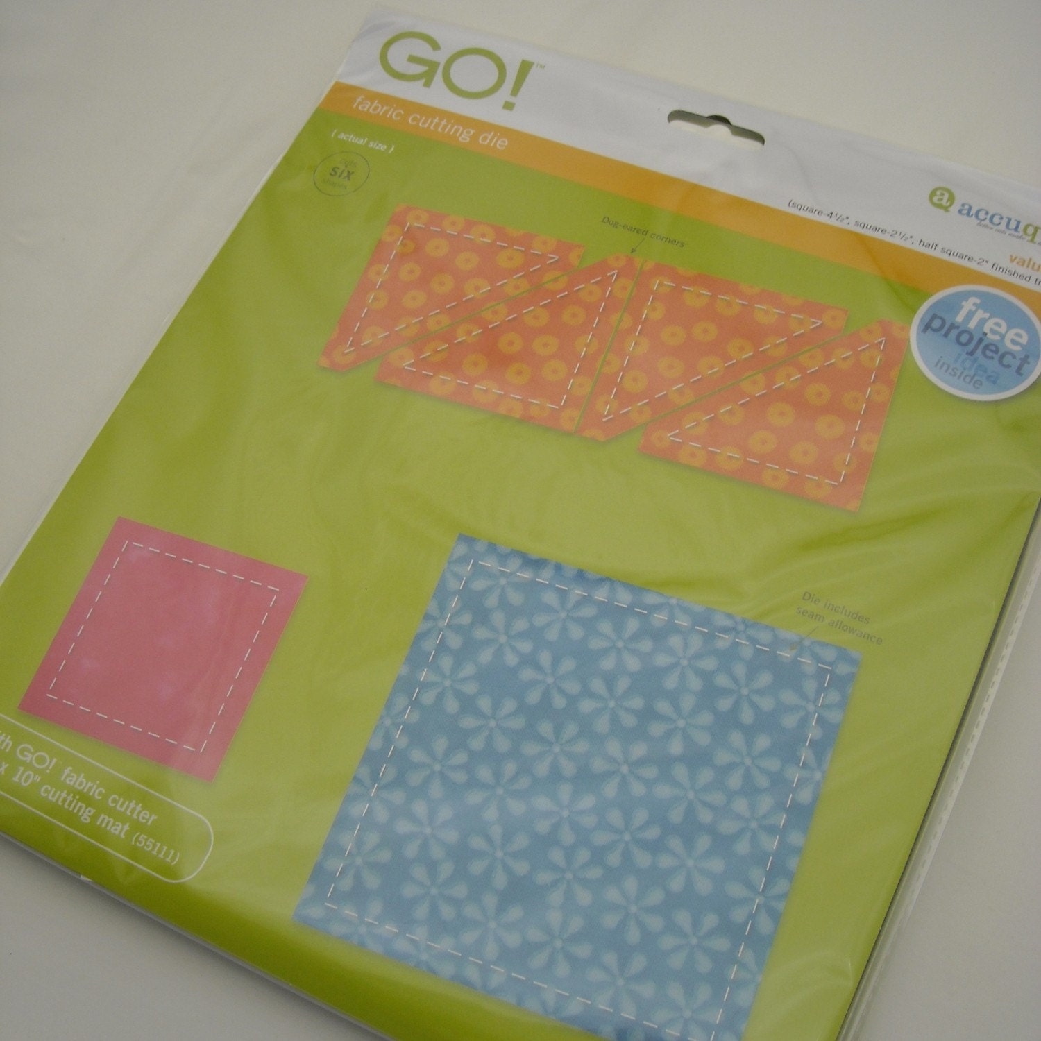 Clearance Sale Accuquilt Go Value Die 6 By Fabricfascination