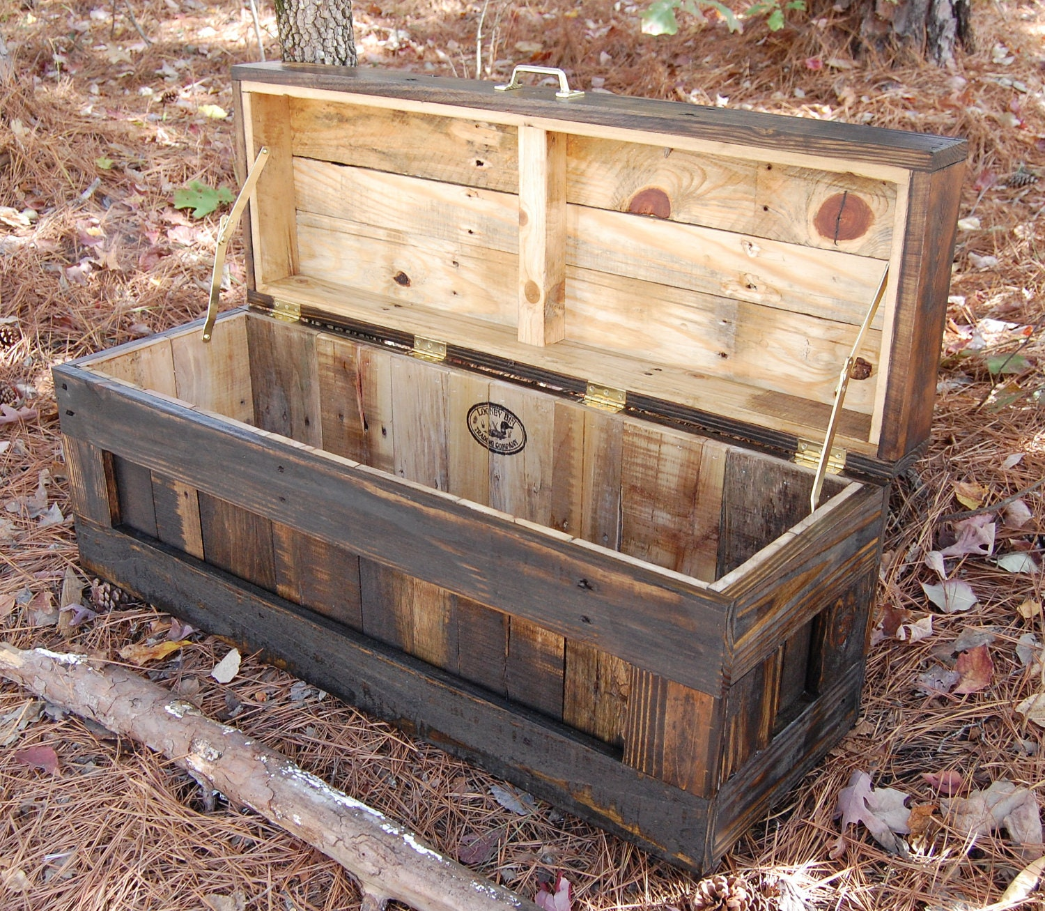 Homemade Wood Toy Chest