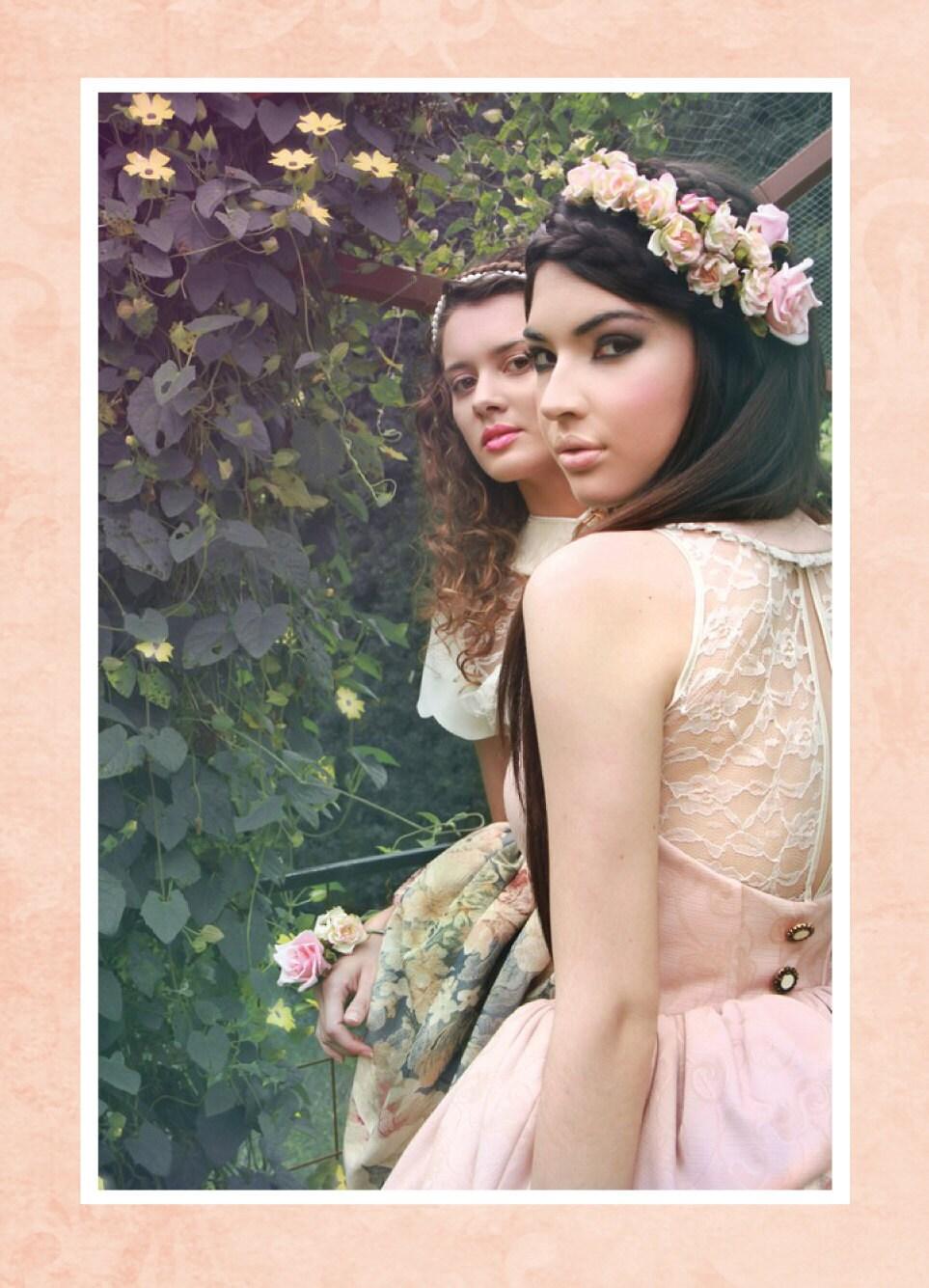Pink pale asymetrical dress
