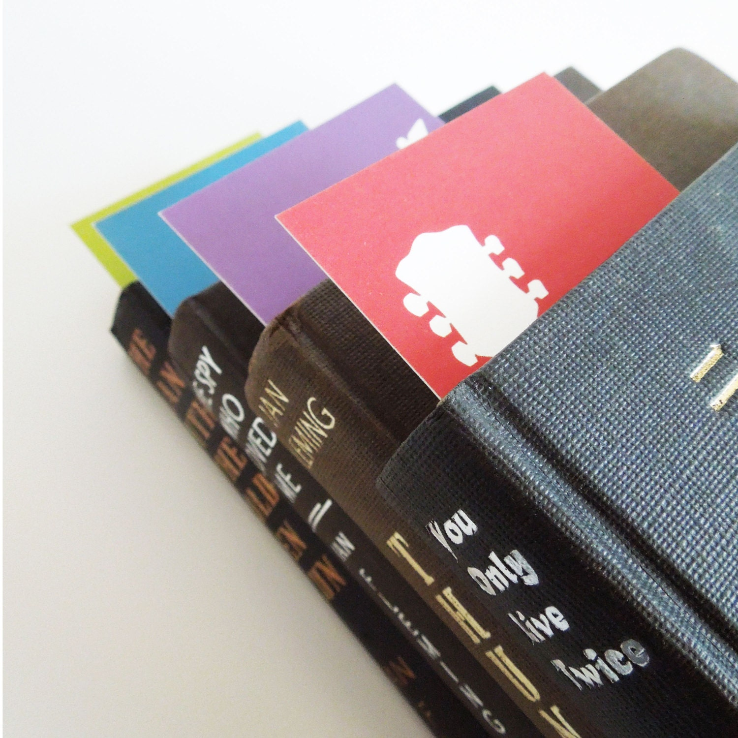 Four Colourful Guitar Bookmarks - thisisknockout