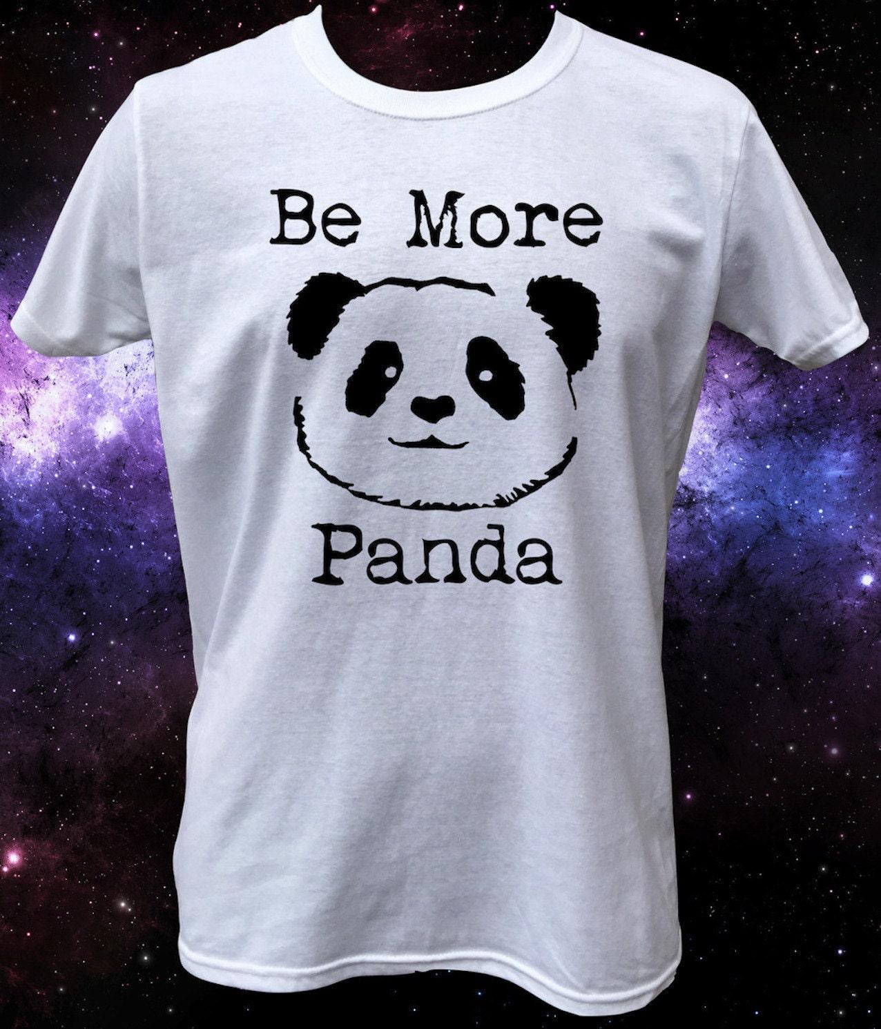 Be More Panda Cute Panda Animal TShirt