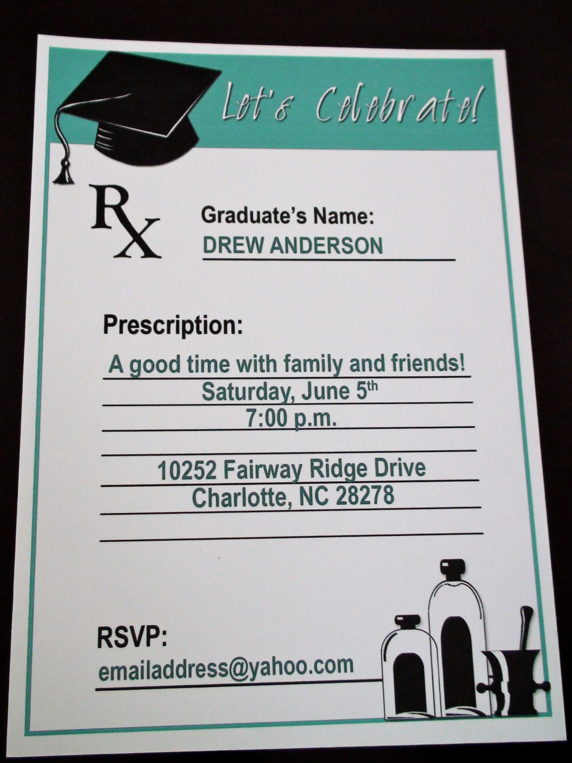 Etsy Graduation Invitations for your inspiration to make invitation template look beautiful
