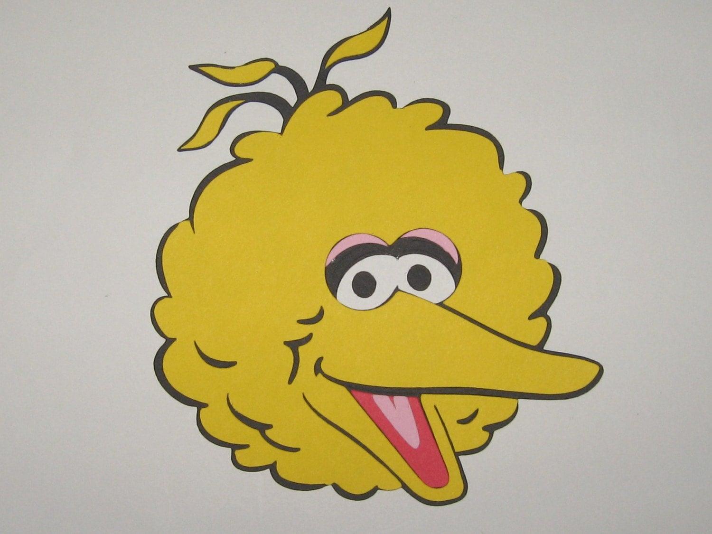 Similiar Big Bird Face Cartoon Keywords