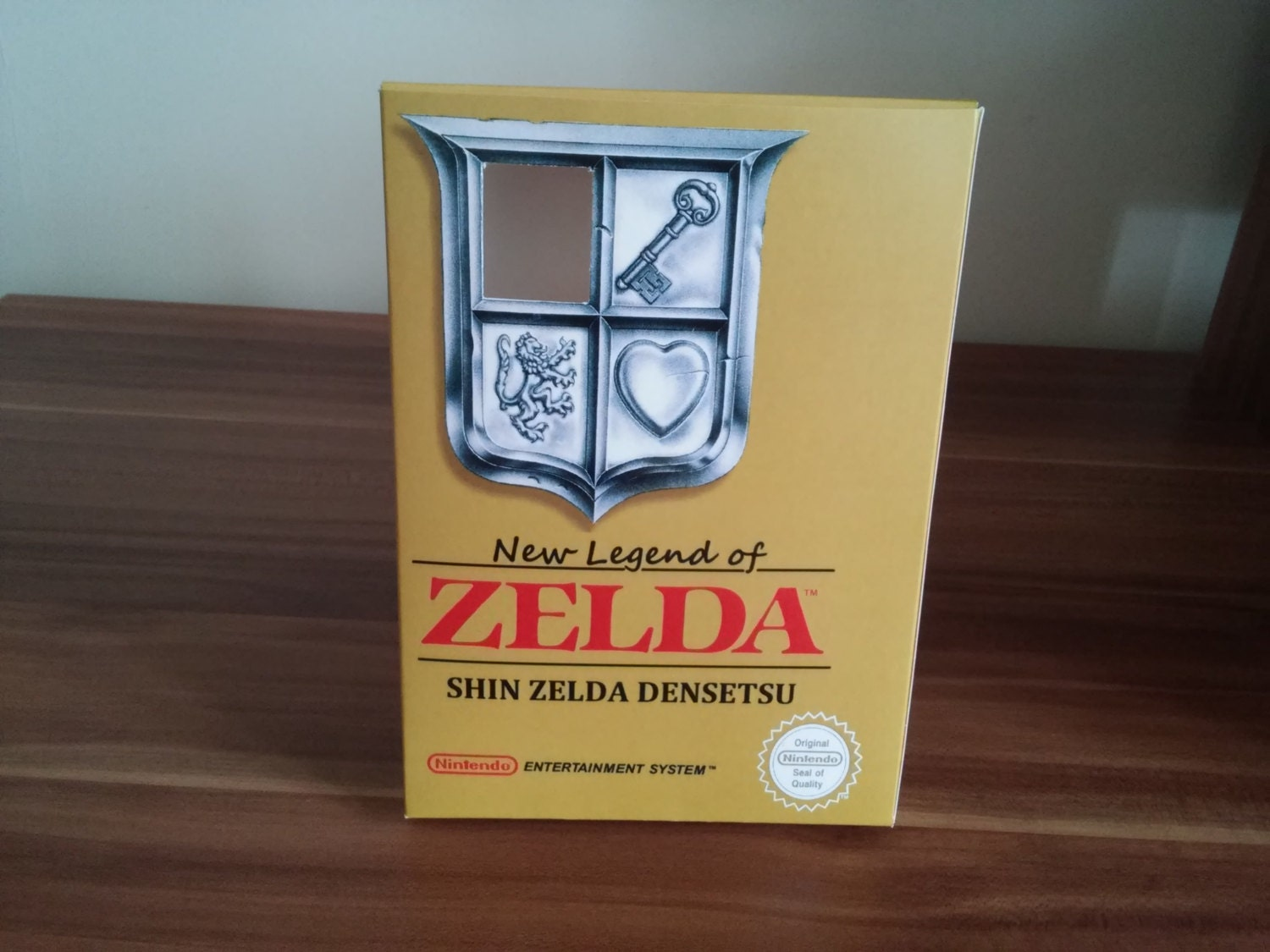 NES New Legend of Zelda  Shin Zelda Densetun ROM hack Repro Box NO Game Included