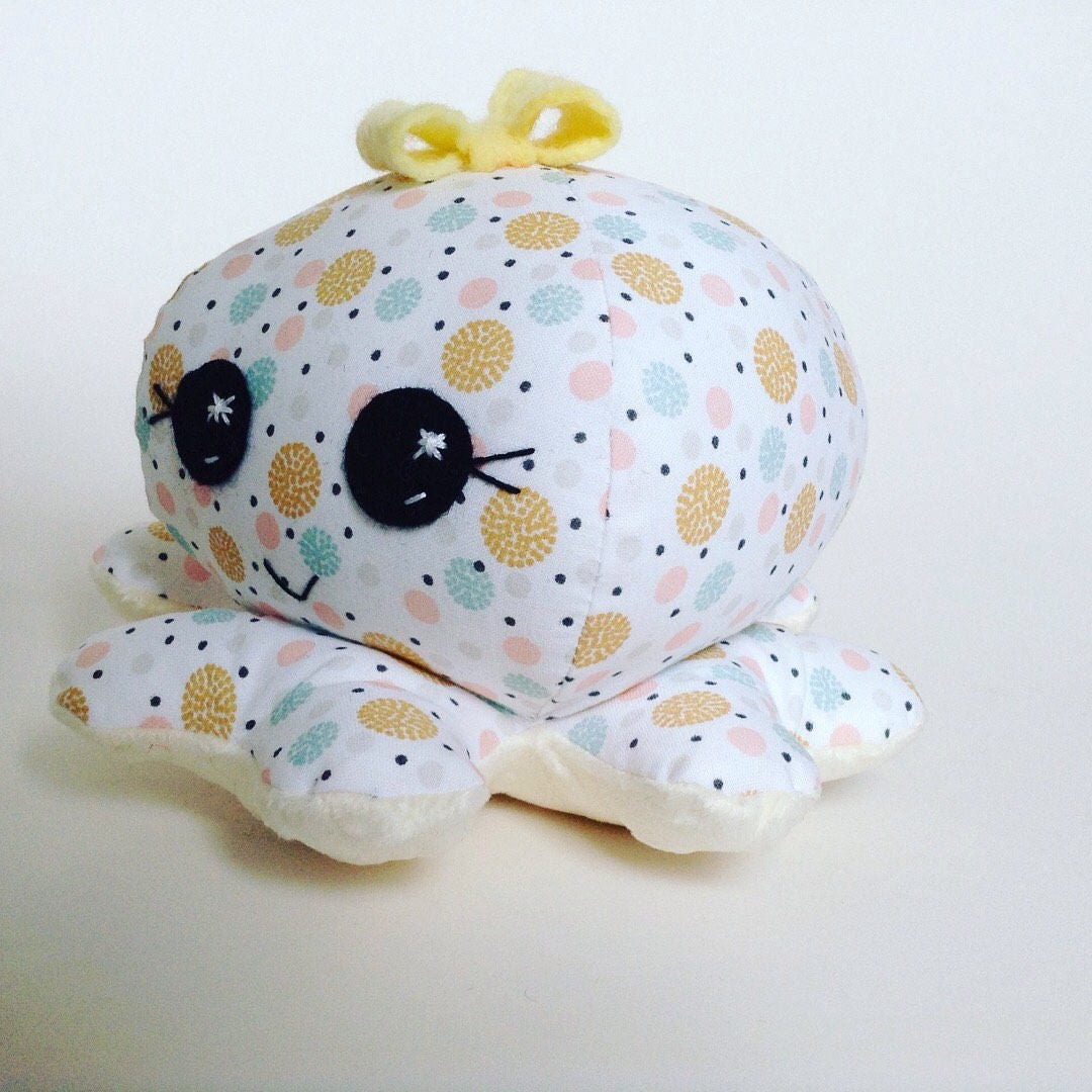 Baby toy , octopus , handmade toy , soft toy , crib toy , toddler toy , cute toys , octopus toy , baby shower gift