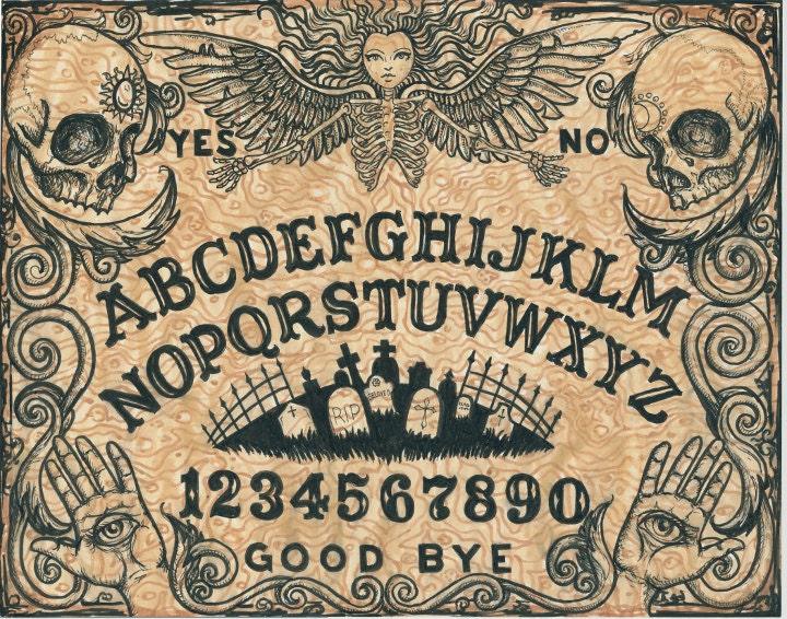 Sweet image throughout ouija board printable
