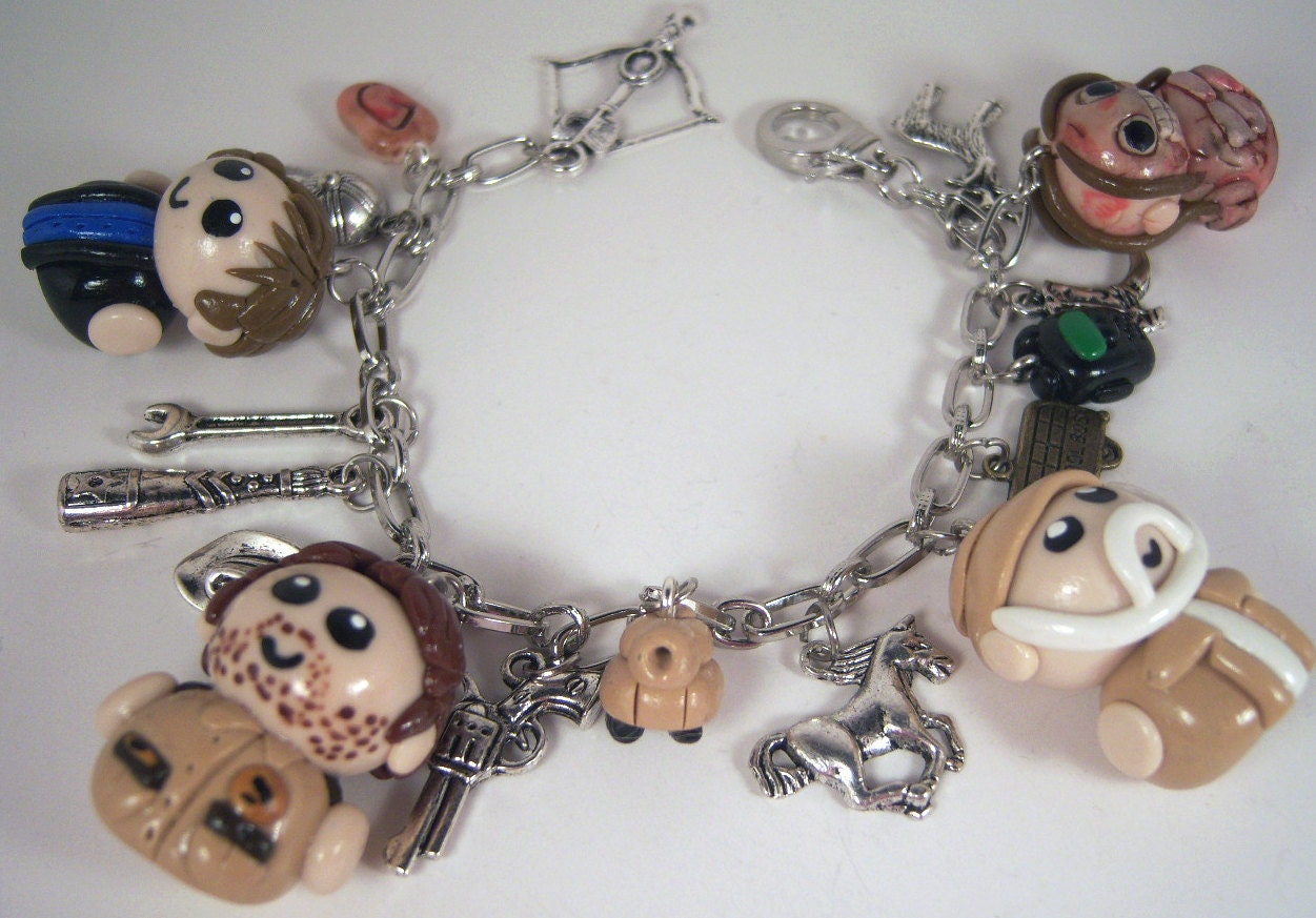SALE - The Walking Dead Charm Bracelet