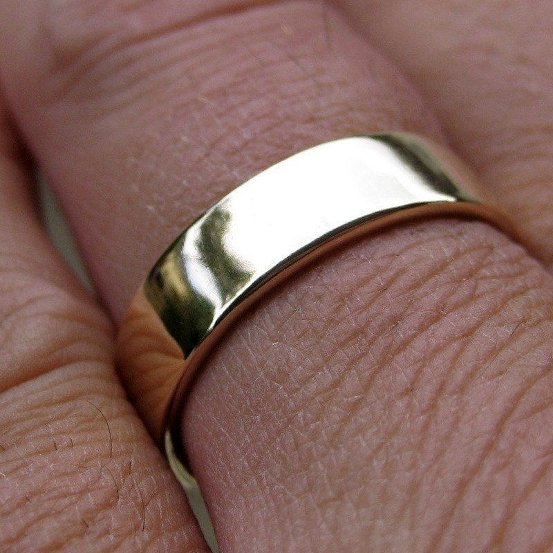 mens wedding rings gold on hand wwwimgkidcom the