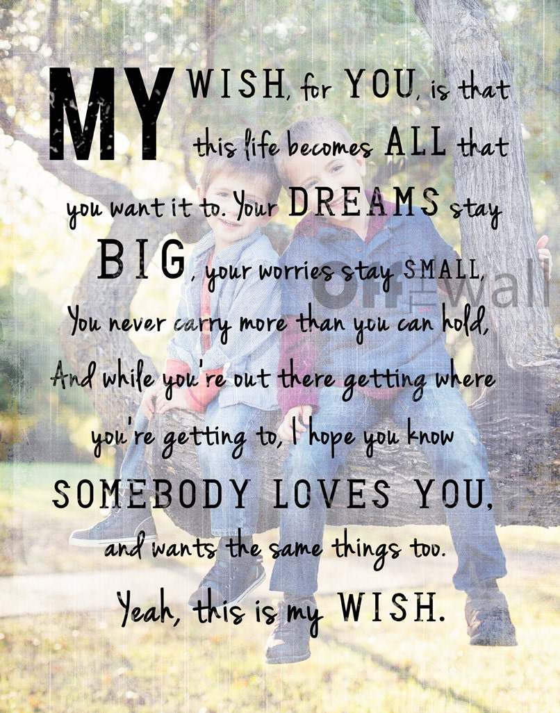 Rascal Flatts My Wish