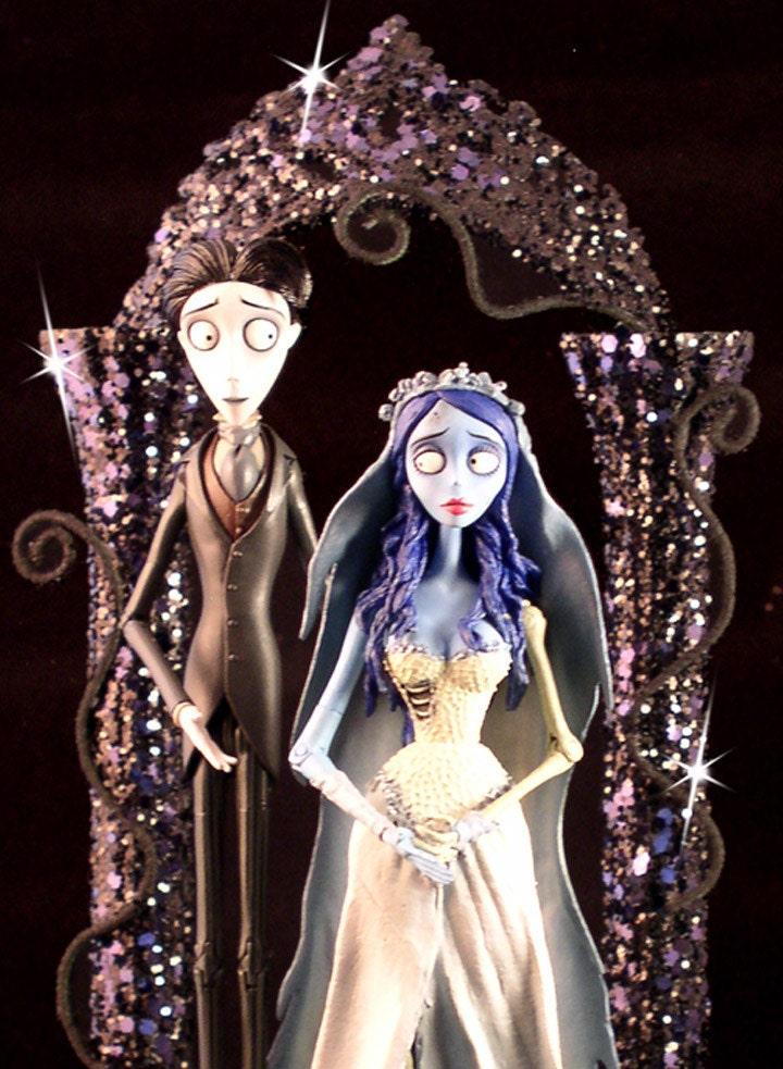 Cake Topper Wedding Corpse Bride