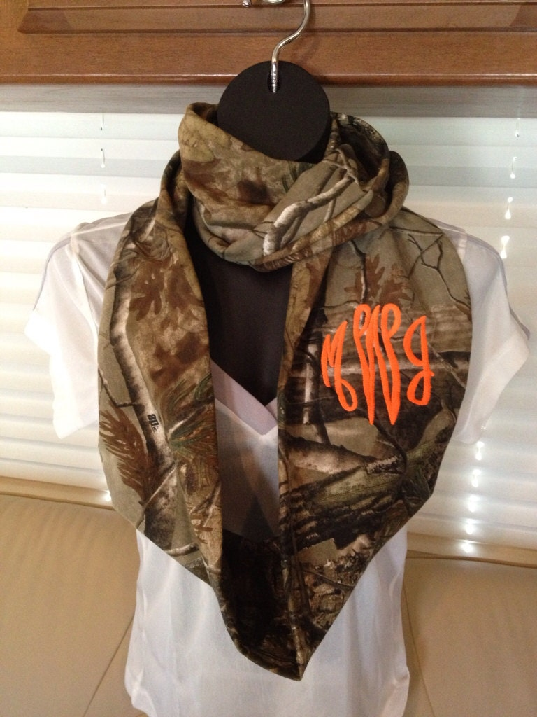 Items Similar To Monogrammed Realtree Camouflage Infinity