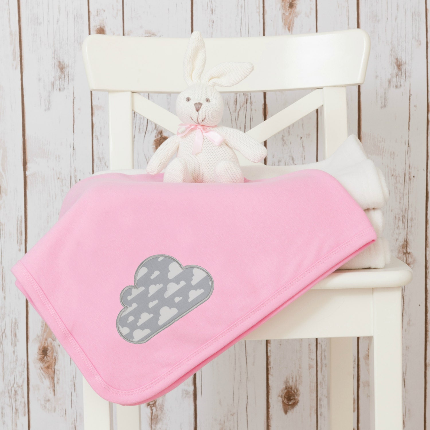 Baby Cloud Blanket  New Baby Blanket  Baby Girl Gift  Baby Boy Gift  Baby Shower Gift