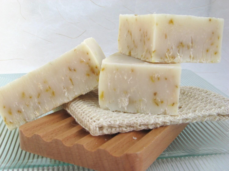 Citrus Scrub Organic Handmade Soap  Olive Oil Soap, Cold Process - SweetSallysSoaps