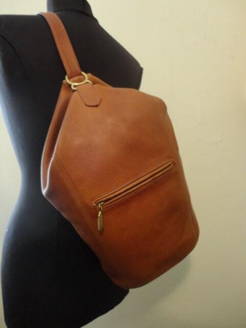 vintage coach cognac leather handbag by silversaturation. Black Bedroom Furniture Sets. Home Design Ideas
