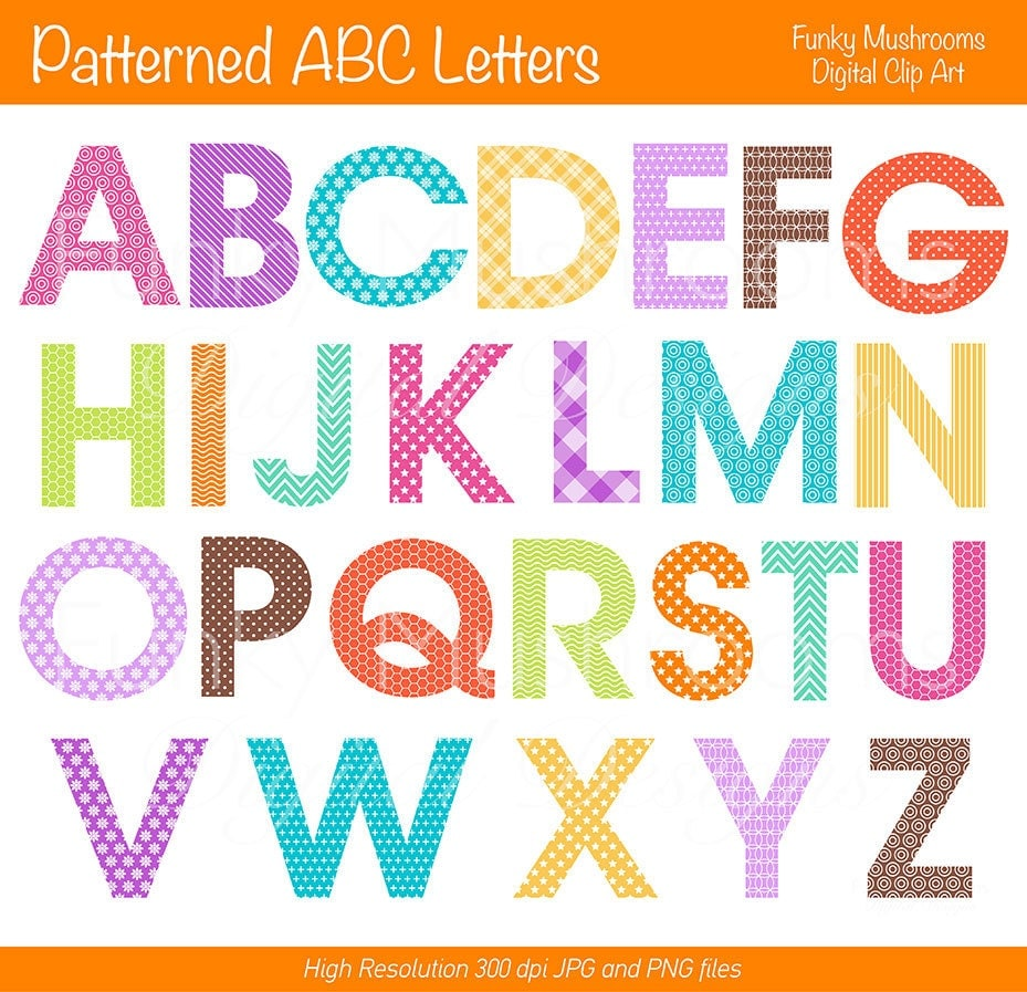 Printable Scrapbook Letters Letters For Scrapbooking