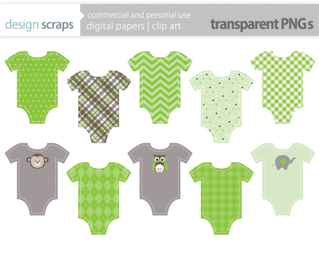 Free baby onesie clip art baby clothes clip art graphics
