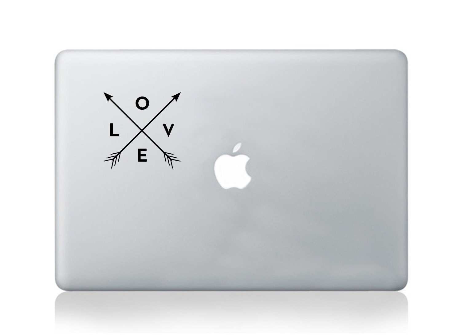 Macbook quote vinyl sticker decal love sicker transfer graphic art laptop notebook skin Asus HP Toshiba Dell decal