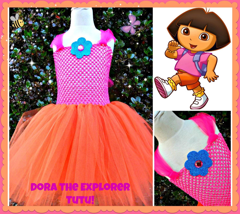 Items similar to Dora the Explorer Tutu Dress on Etsy