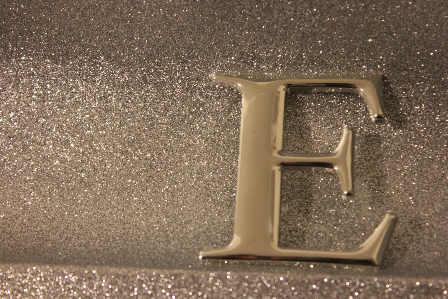 diy monogram stocking pin silver brooch by designsbyembellish With silver letters for stockings