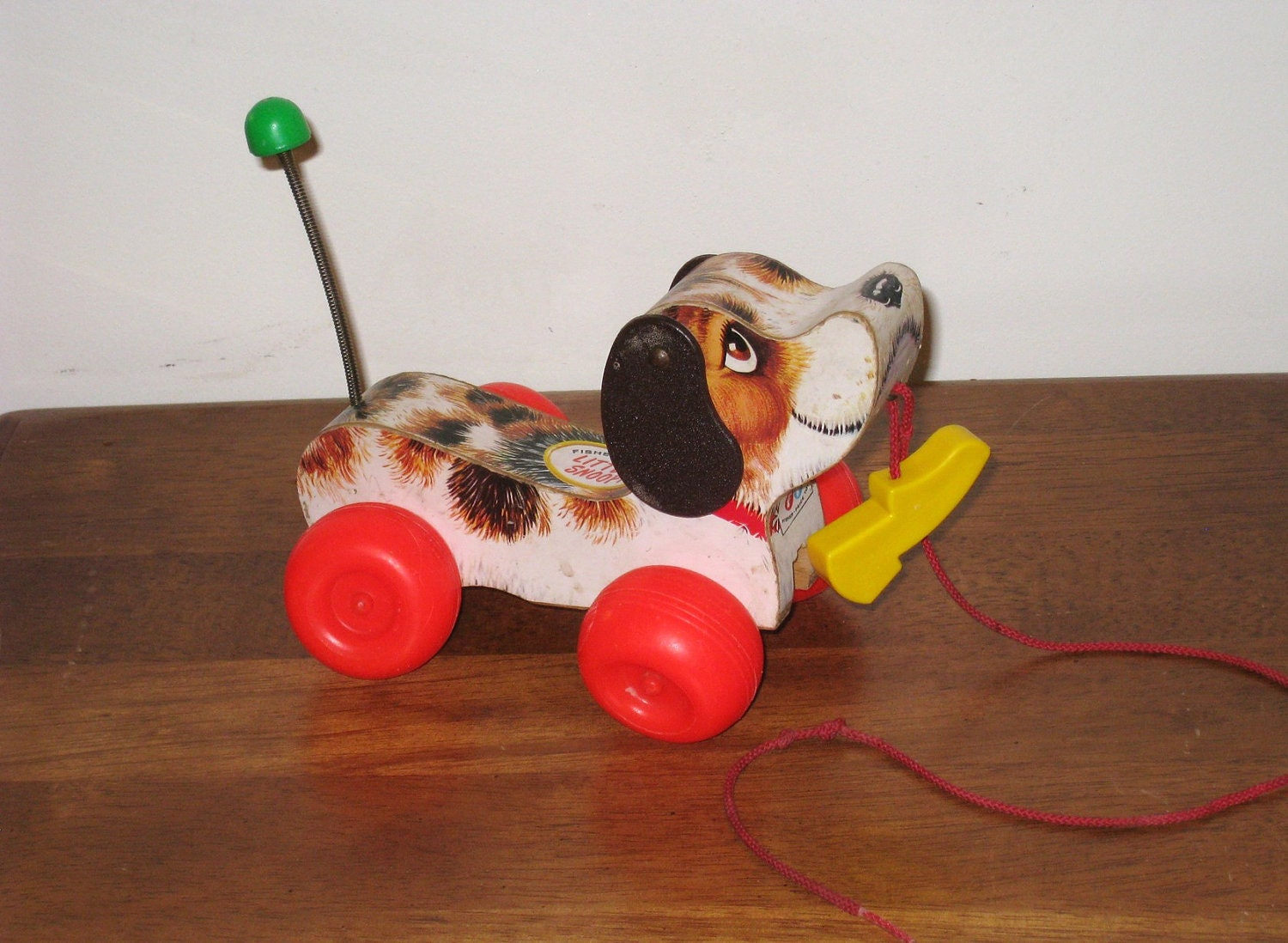 Toys From The 40s : Little snoopy s fisher price pull toy with by
