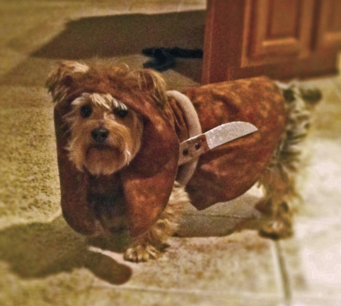 Ewok Costume Dog How To Make