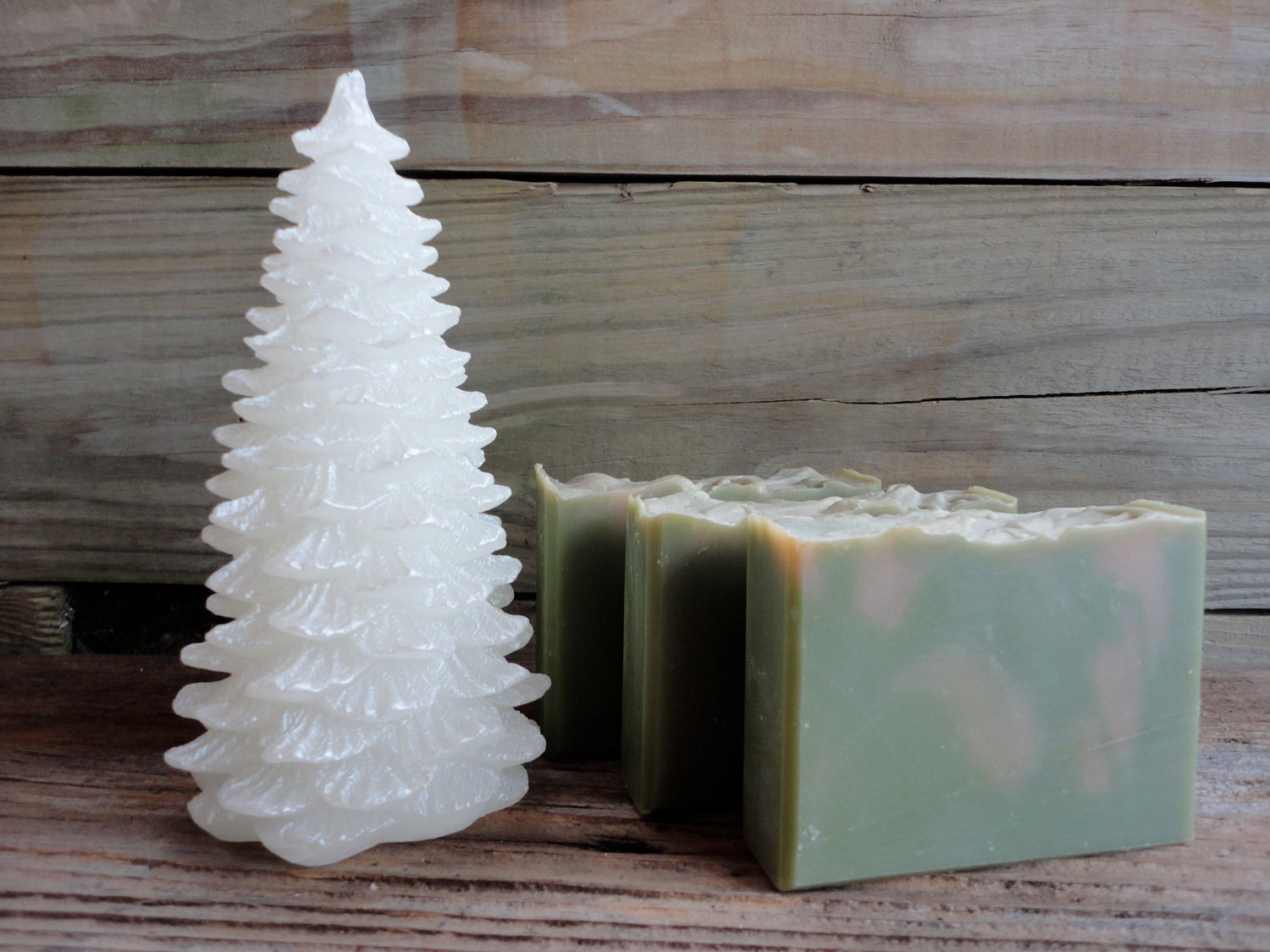 Frosted Spruce Soap Handmade Soap - ComfortandJoySoapCo