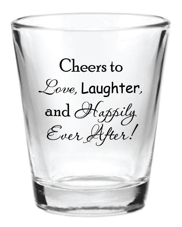 Wedding Shot Glasses: 144 Personalized 1.5oz Wedding Favor Glass Shot By Factory21