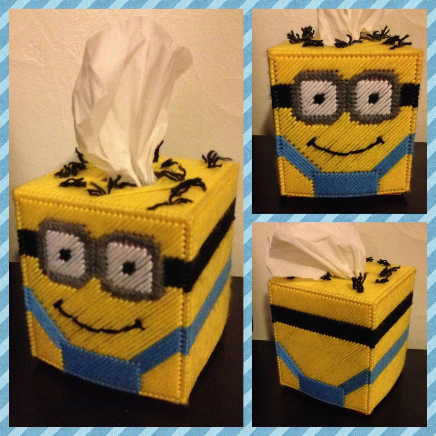 Despicable Me Minion Tissue Box
