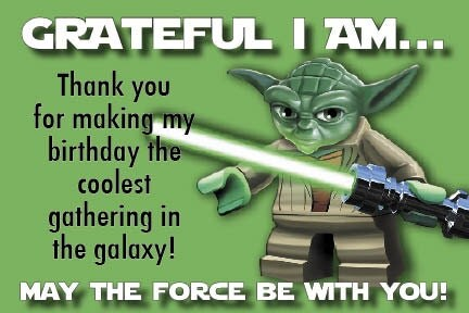 Terrible image within star wars thank you cards printable free