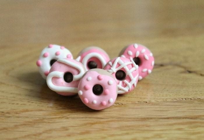 Pink Donut Pushpins