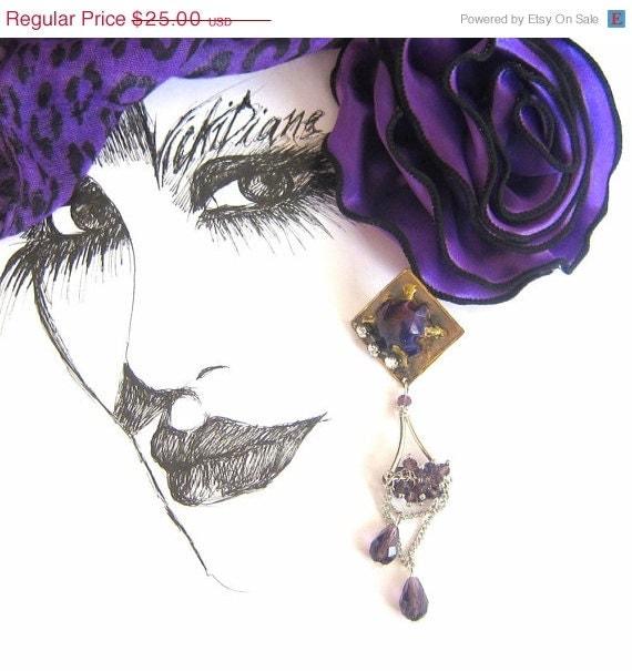 CHRISTMAS SALE 25% OFF Powerful Purple - VickiDianeDesigns