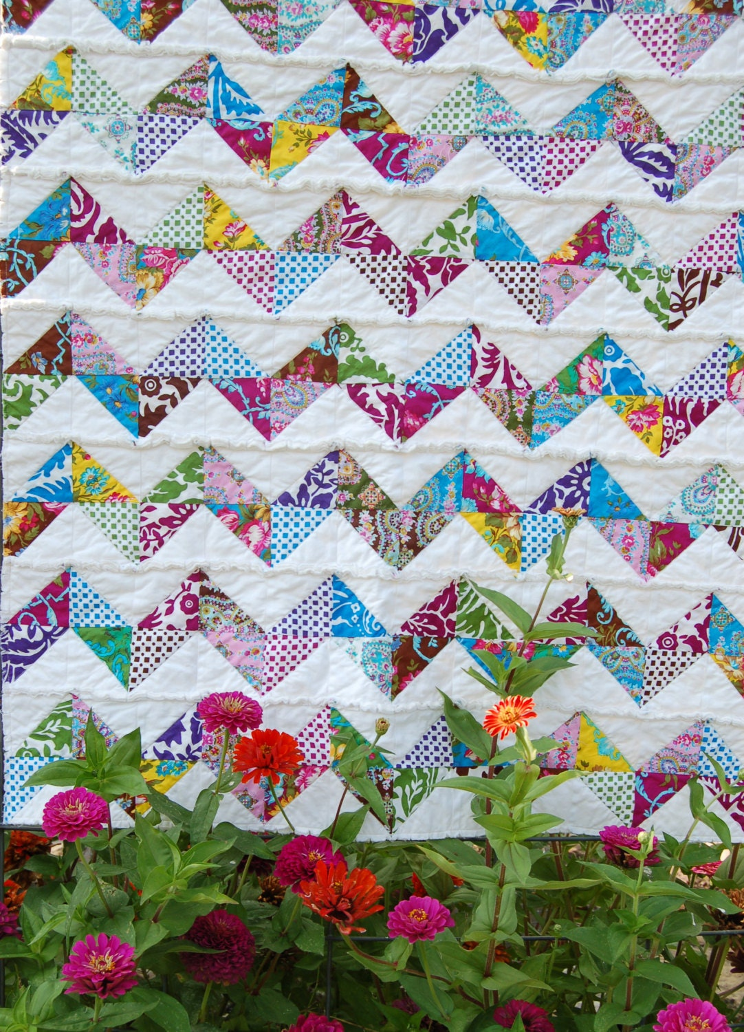 Rag Quilt Baby Quilt Baby Blanket Etsy Baby By TheDesigNest