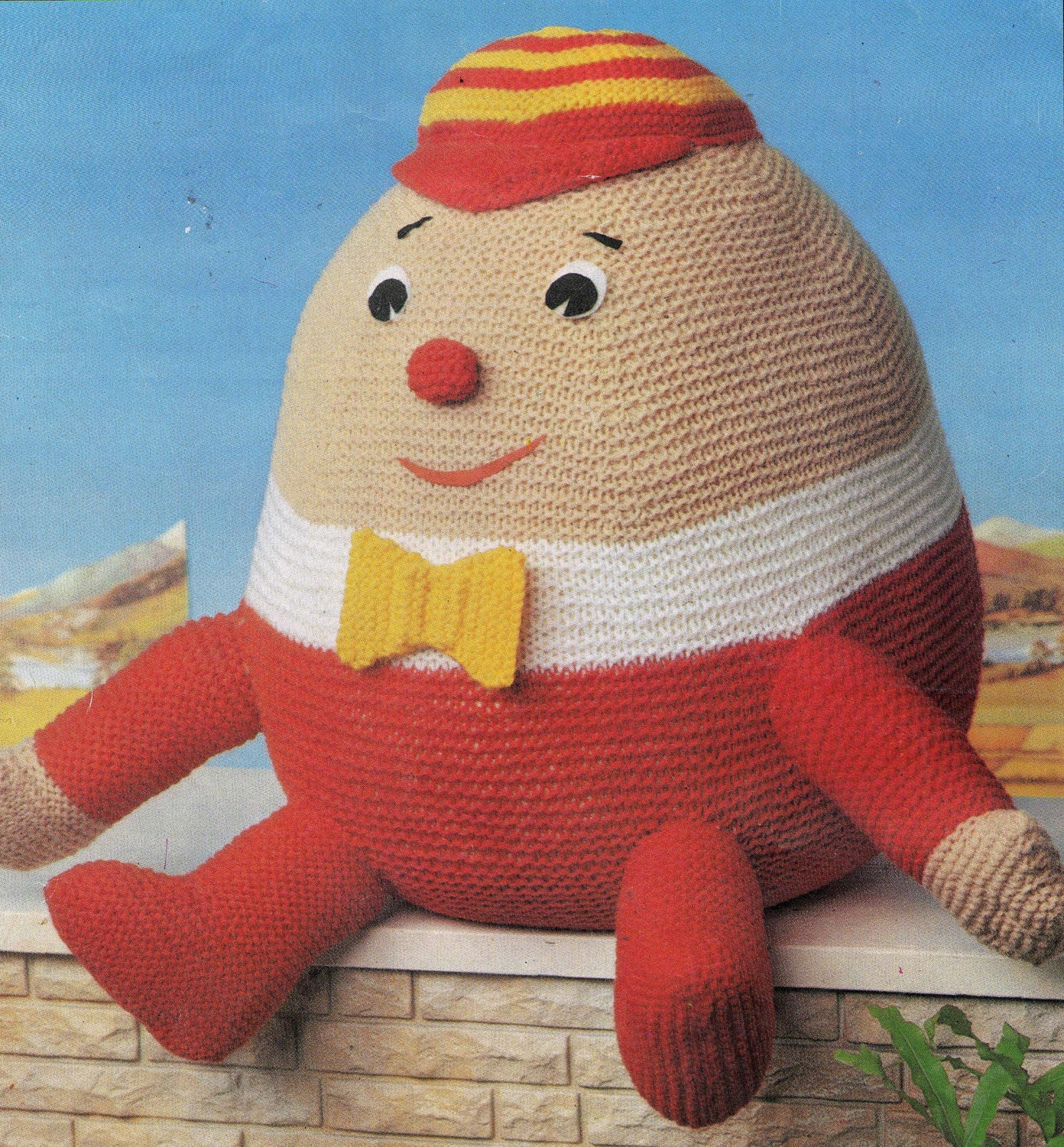 Knitting Pattern For Humpty Dumpty : Items similar to Humpty Dumpty Knitting Pattern pdf on Etsy