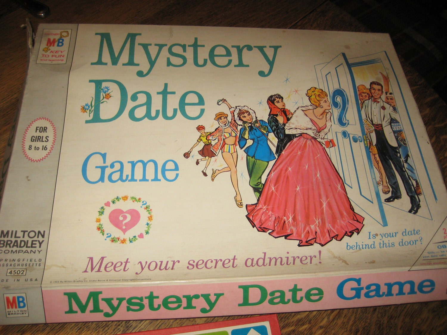Mystery Date Board Game Mystery Date Game