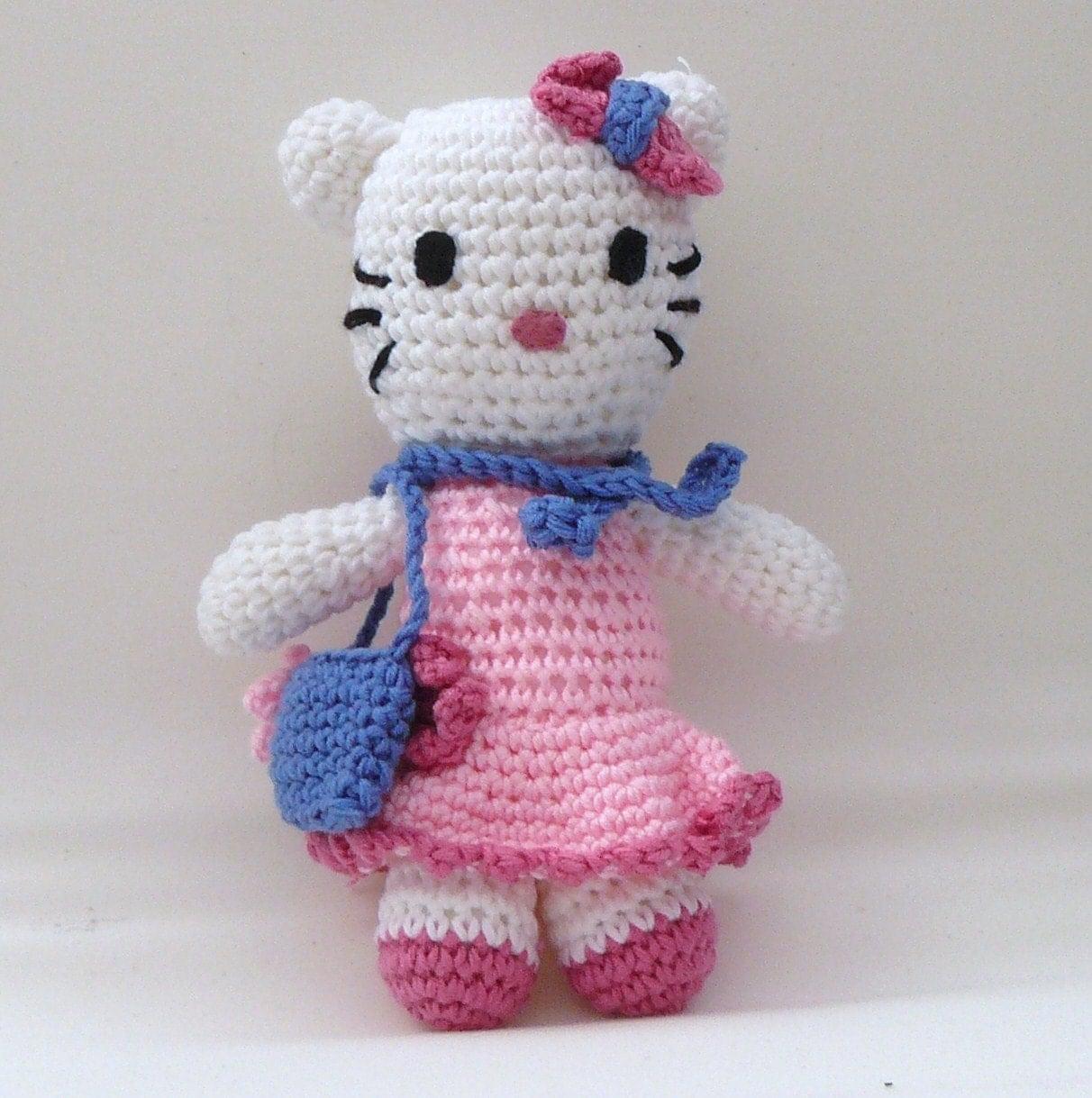 Hello Kitty Mariposa Amigurumi : Crochet amigurumi Hello Kitty Girls Day Out in by ...
