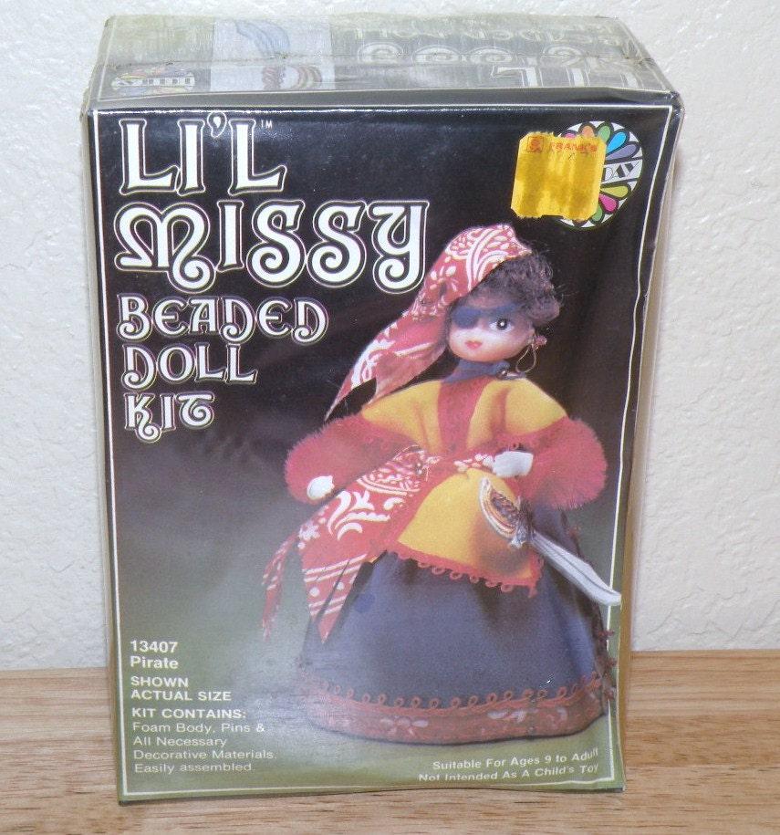 li l pirate beaded doll kit factory by