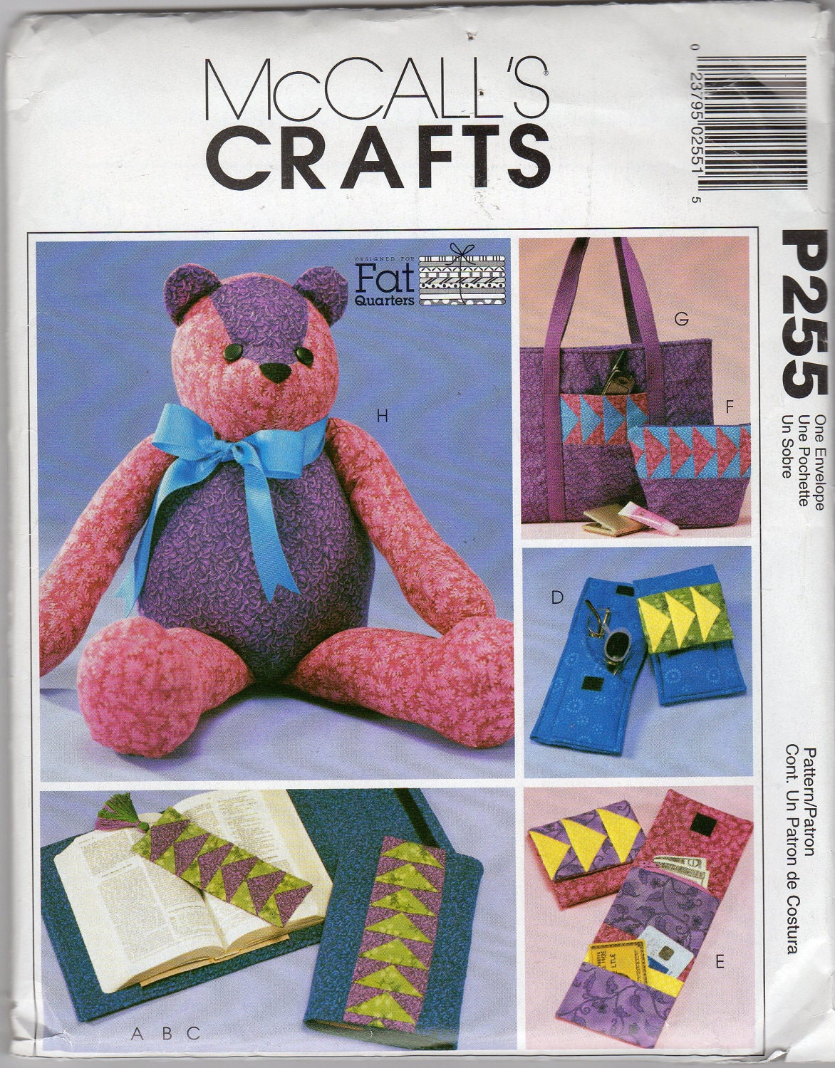 How To Make A Quilted Book Cover ~ Patchwork quilted teddy bear tote bag book cover by