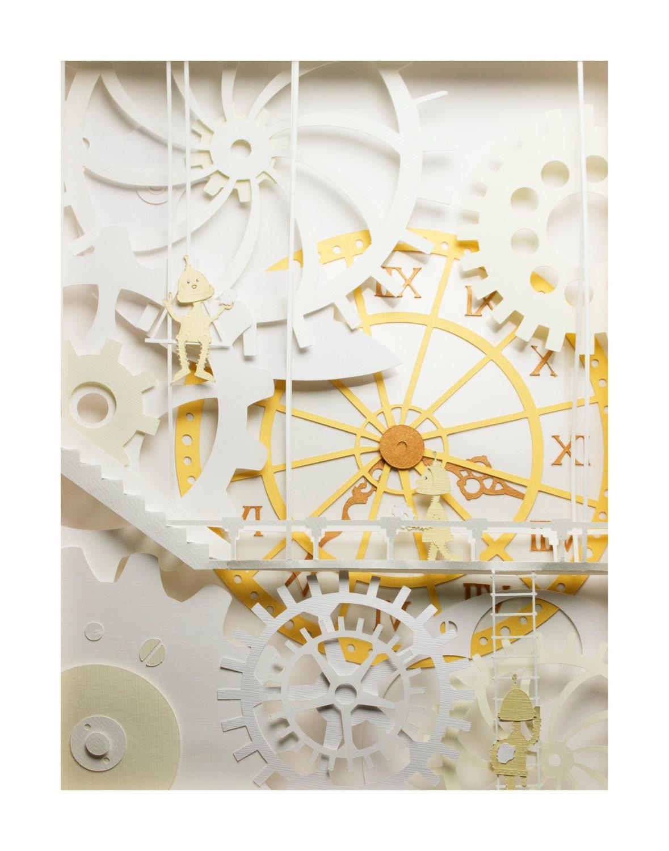 Clockwork Print - jackiehuang