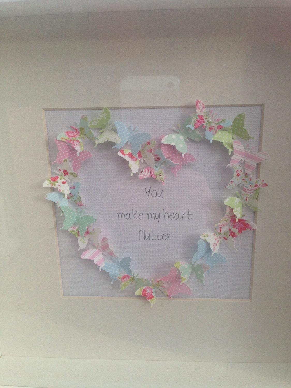 Butterfly frames wedding